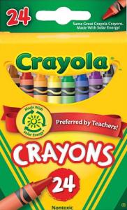 Crayola Wachsmalstifte